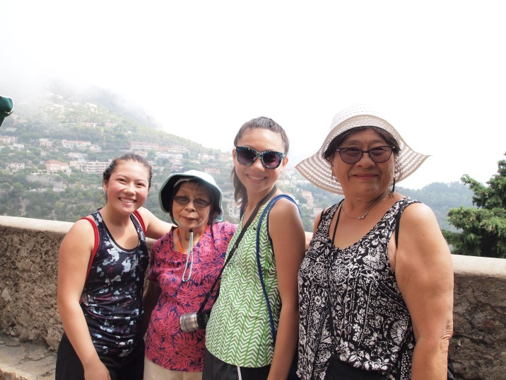 post hike tourism!