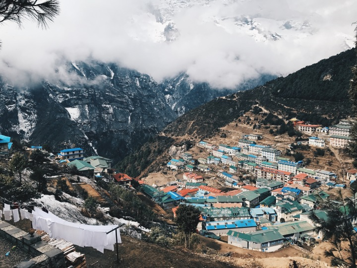 unexpected everest base camp (2): trekking to namche bazar