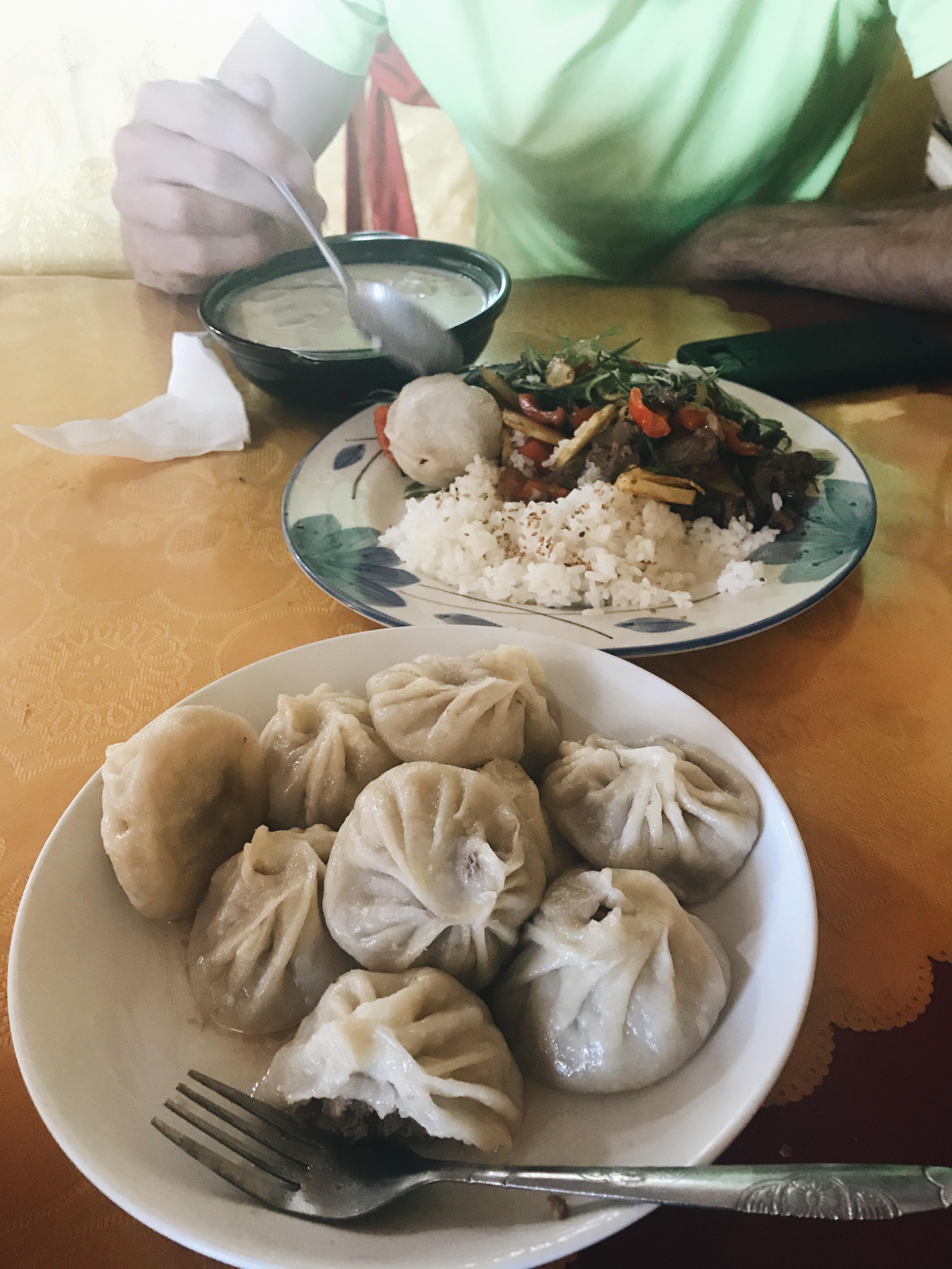 mutton dumplings