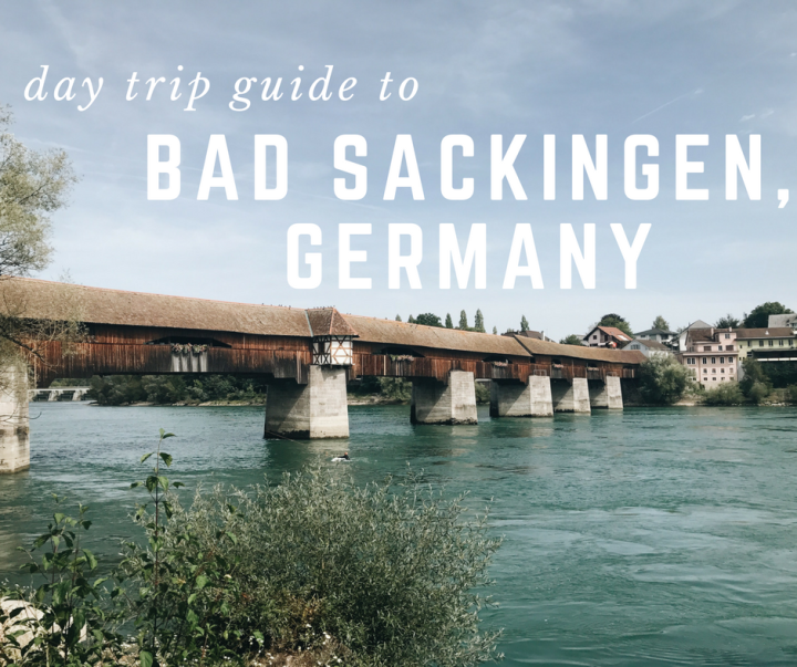 unexpected day trip: bad säckingen, germany