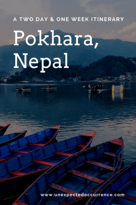 A Two Day and One Week Itinerary to Pokhara, Nepal- the most relaxing place on earth. #travel