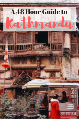 A 48 Hour Guide to Kathmandu, Nepal | Got some time in Kathmandu before trekking in the Himalayas? I've got you covered! Here's an (almost) local's guide to the most vibrant city