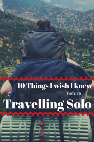 Traveling Solo? Here are some things I wish I knew before my first trip! | Solo travel | travel tips