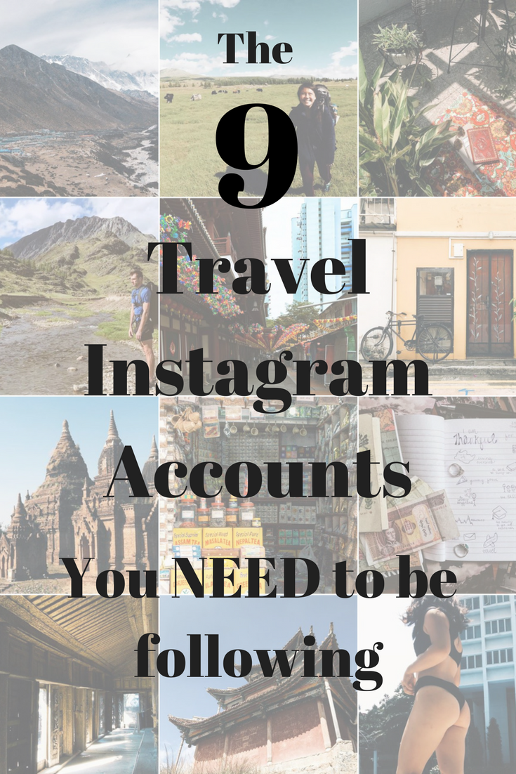 The nine travel instagram accounts you need to be following!