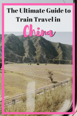 The Ultimate Guide to Train Travel in China | Everything you need to know about Trains in China | What to eat | What ticket to buy | #travel