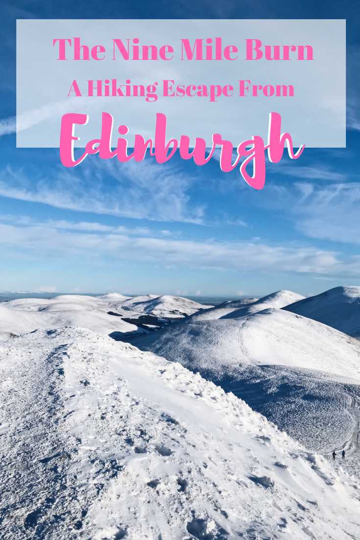 The Nine Mile Burn: A Hiking Escape From Edinburgh | Ever feel like you need a break from the city? Get out into Scottish Nature! The Pentlands are only a short 45 minute bus ride away from the city, and this hike makes you feel like you're even out of the UK!