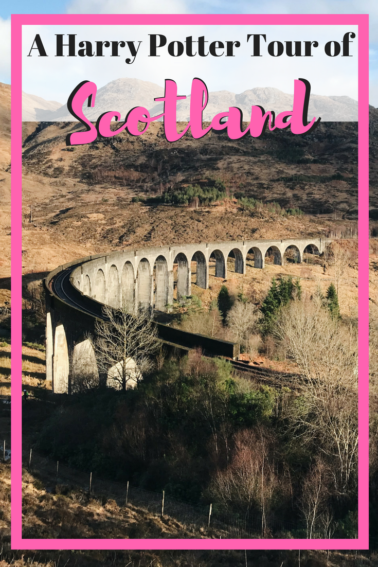A Harry Potter Tour of Scotland | Harry Potter | Edinburgh | Travel to Scotland and see Harry Potter filming locations! | Harry Potter Bridge | Glenfinnan Viaduct | Hogwarts | Black Lake | Lock Shiel | Glen Coe | Hagrid's Hut