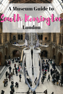 A Museum Guide to South Kensington, London | Natural History Museum | #travel #London | Science Museum | Maitre Choux eclairs | Victoria and Albert Museum