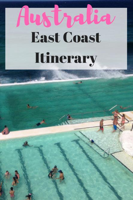 Australia's East Coast Itinerary | East Coast Australia Trip | Road Trip #Australia |