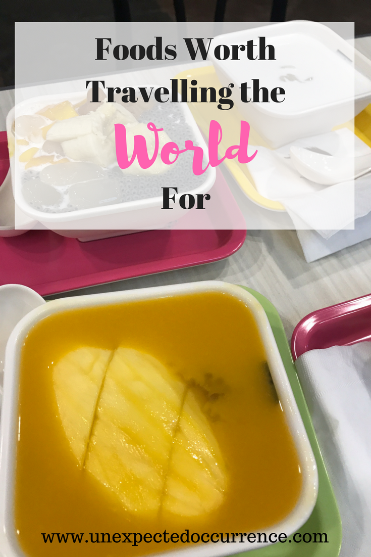 Foods Worth Travelling the World For | Are you a true foodie? Check out my list of some of my absolute favourite foods around the world.