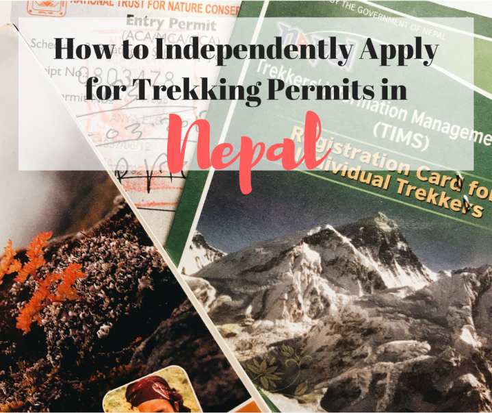 How to Independently Apply for a TIMS card and ACAP Permit inNepal