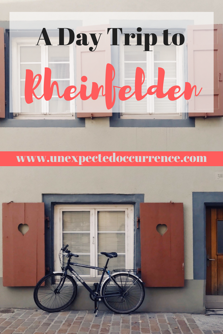 A Day Trip to Rheinfelden | Rheinfelden is in both Switzerland and Germany, and such a beautiful little town! It's definitely worth a visit if you're looking for a day trip from Basel or to #travel around the area