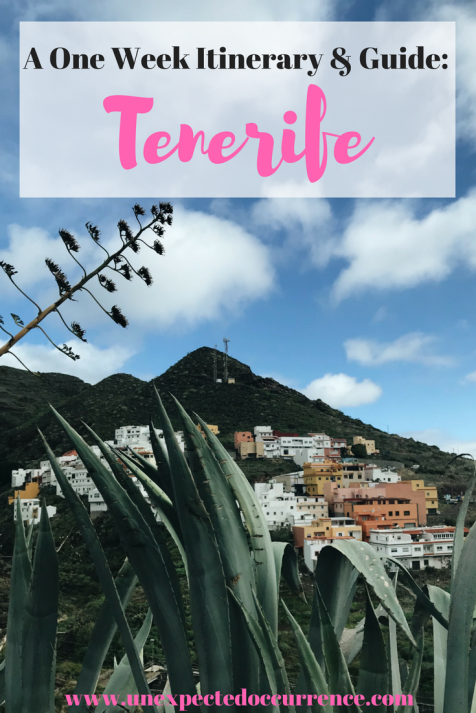 A One Week Itinerary & Guide to Tenerife, Canary Islands, Spain | I was so pleasantly surprised by this beautiful island. It's so much more than just a party place! I fell in love! Here's how we spent a week soaking up the best parts of this amazing destination.