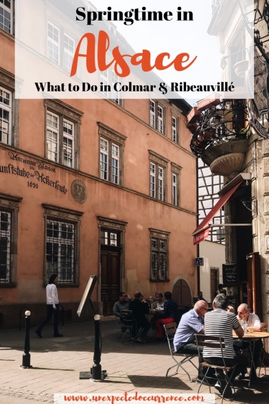 "What to do in Colmar & Ribeauvillé, France! The Alsace is filled with so much beauty that it must have inspired Disney's ""Beauty and the Beast!"""
