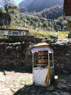 How to Trek the Three Passes Independently: prayer wheel