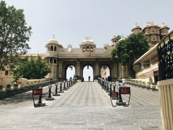 Best Sunset Spot in Udaipur: gate to palace