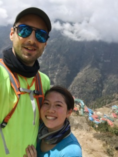 How to Trek the Three Passes Independently: couple selfie