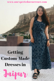 Getting Custom Made Dresses in Jaipur | India | Shopping