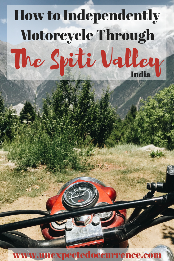 How to Independently Motorcycle Through the Spiti Valley, India | Solo Road Trip | Himachal Pradesh |