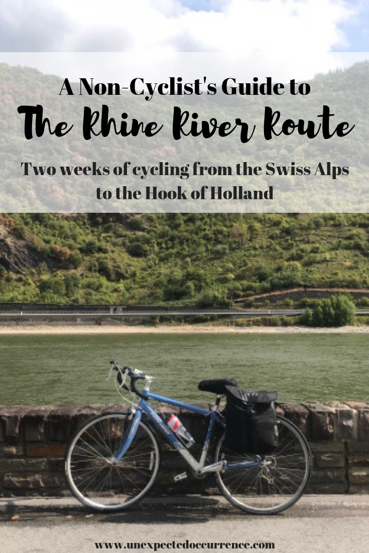 A Non-Cyclist's Guide to Cycling the Rhine River | Two weeks cycling through Switzerland, France, Germany, and the Netherlands | The best beginner cycling tour
