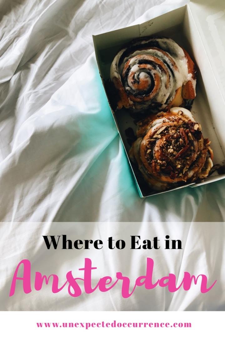Amsterdam Food Diary